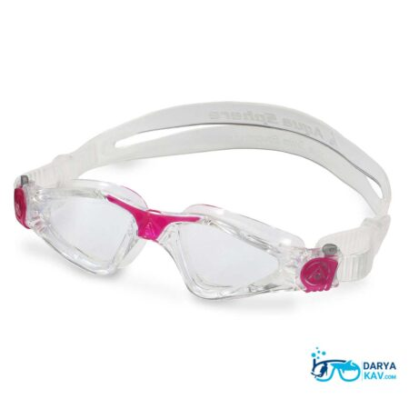 عینک شنا زنانه آکوا اسفیر مدل Kayenne Ladies لنز شفاف