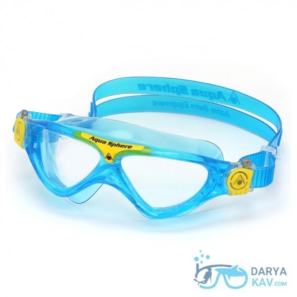 عینک شنا بچه گانه Vista JR لنز شفاف