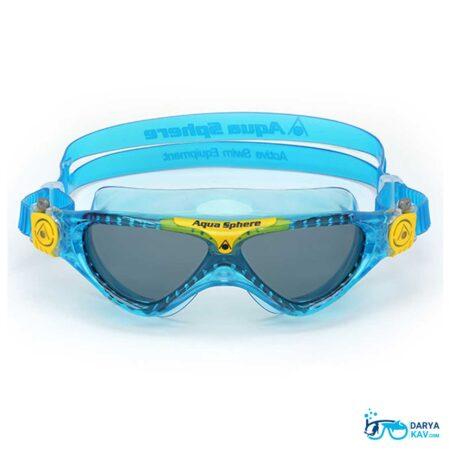 عینک شنا بچگانه لنز دودی Aqua Sphere Kayenne Jr