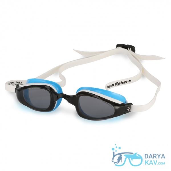 عینک شنا زنانه K180 لنز دودی