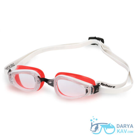 عینک شنا زنانه K180 لنز شفاف