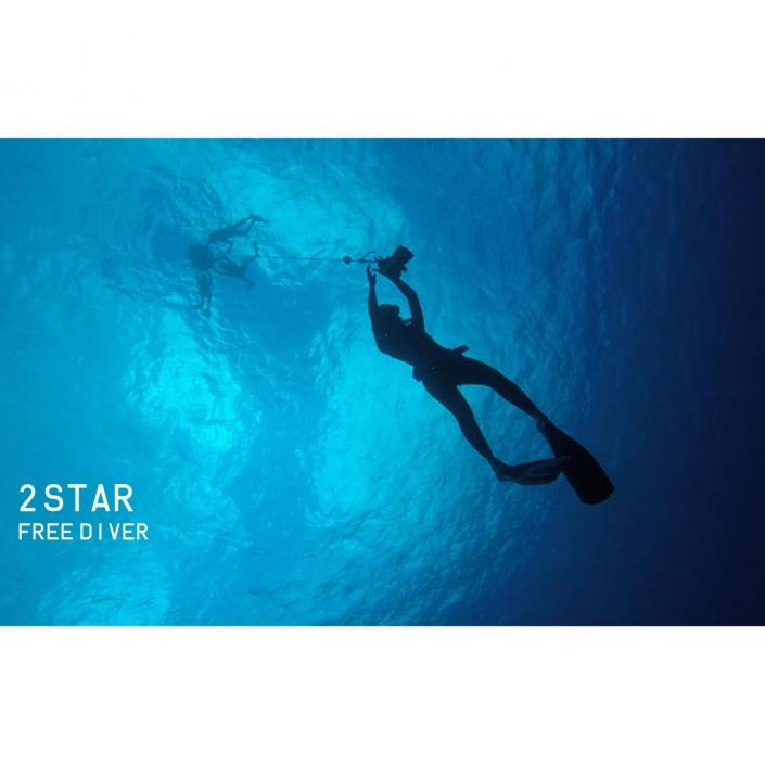 آموزش غواصی دو ستاره