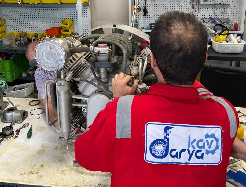 تعمیر کمپرسور فشار قوی Bauer