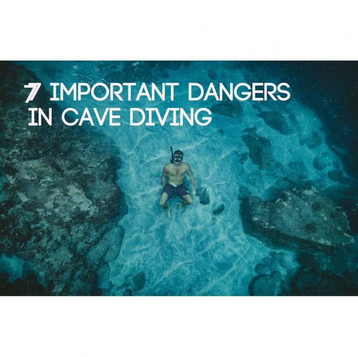 خطرات غواصی آزاد در غارها